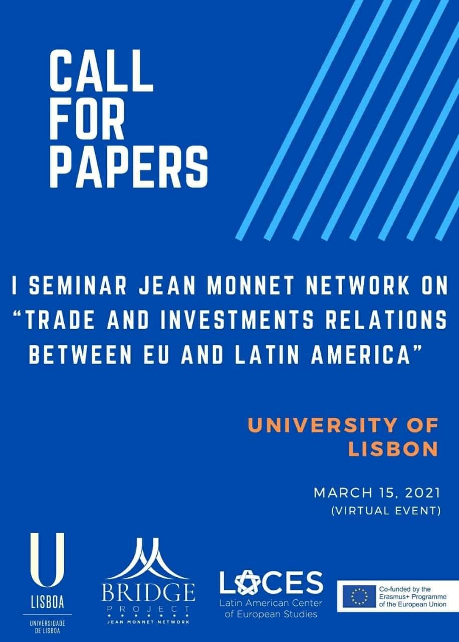 Call for Paper – I Seminario del Jean Monnet Network BRIDGE
