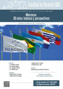 MERCOSUR – 30 años: balance y perspectivas