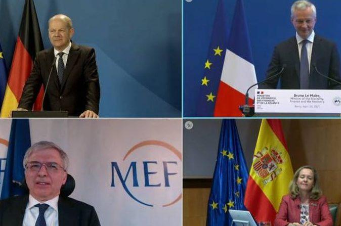 Alemania, Francia, Italia y España apremian al resto de países de la UE a que presenten cuanto antes sus planes de recuperación